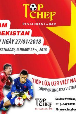 Tiếp Lửa Đội Tuyển U23 Việt Nam Đến Ngôi Vô Địch Châu Á