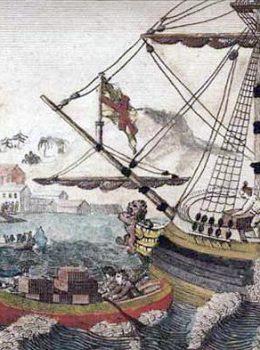tiệc trà boston 1 Có gì khác biệt giữa tiệc trà Boston và tiệc trà kiểu Anh?