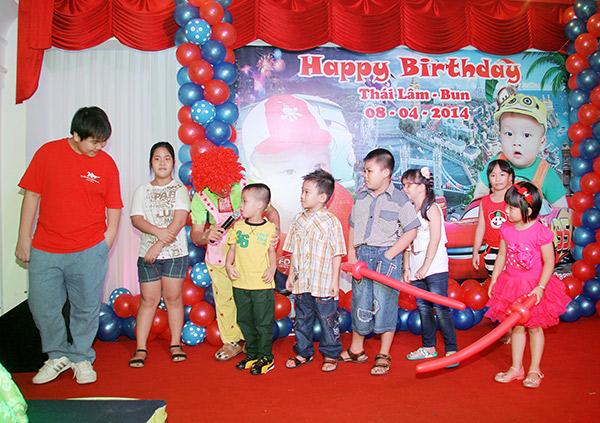 Tiệc sinh nhật cho bé trọn gói tại nhà hàng Top Chef 1 Tiệc sinh nhật cho bé trọn gói tại nhà hàng Top Chef